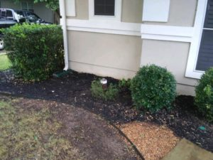 Backfill and Cleanup Process by MitchCo Foundation Repair