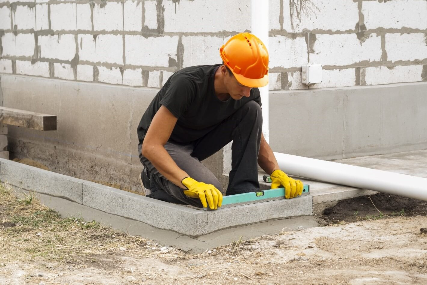 Leveling method at Mitchco Foundation Repair